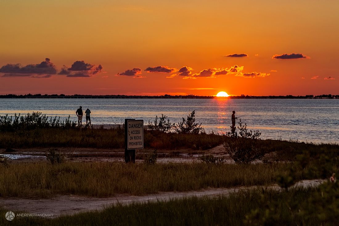 Sunset at Bowditch Point Park