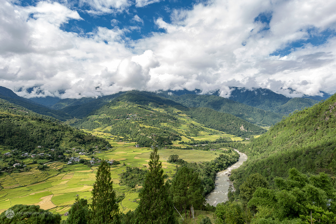 Punakha Valley, Bhutan