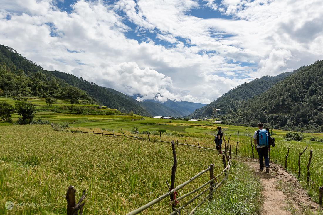 Hike to Khamsum Yulley Namgyal Chorten Temple