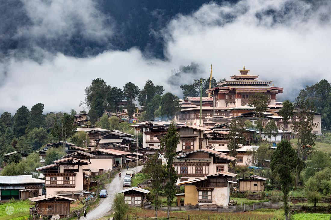 Gangtey, Bhutan