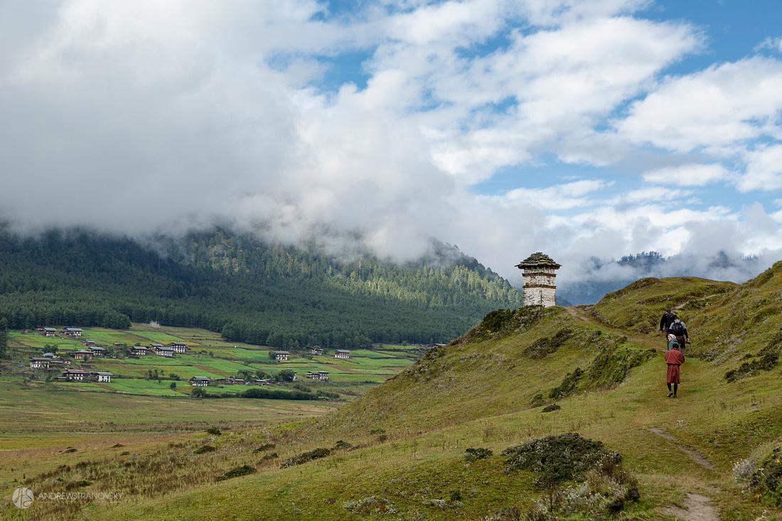 Valley of Gangtey, Bhutan