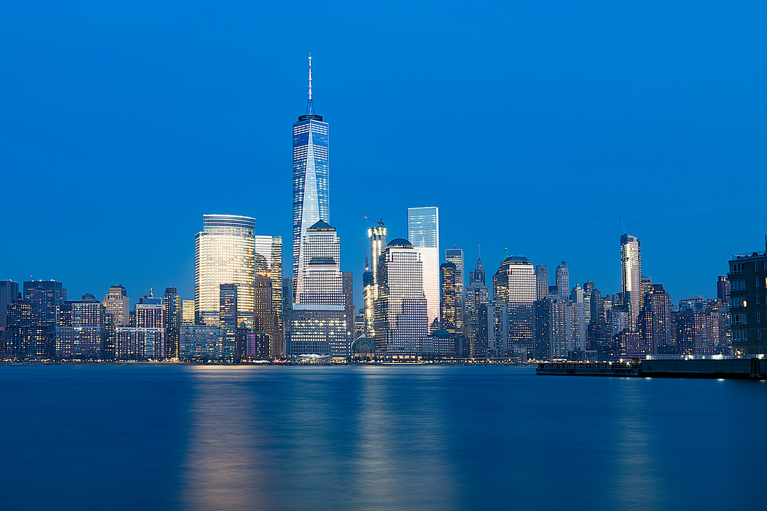 Downtown NYC in the Evening
