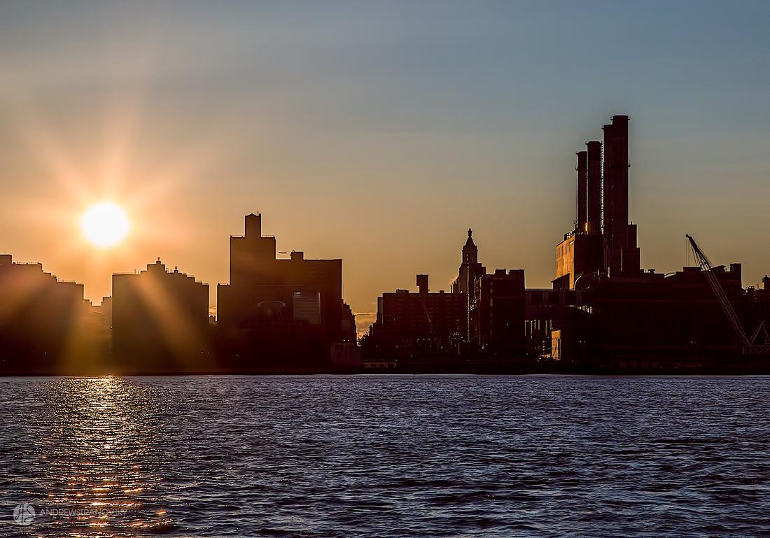 Sunset over Midtown