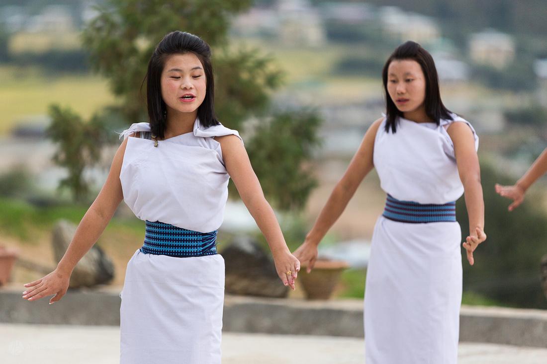 Bhutanese Dancers