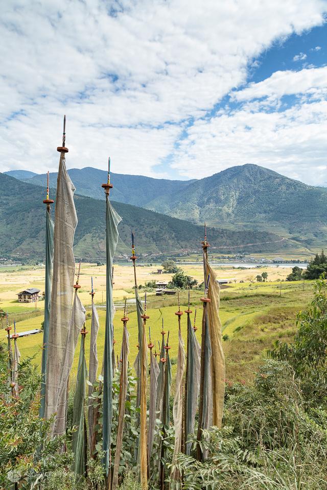 Views from Punakha
