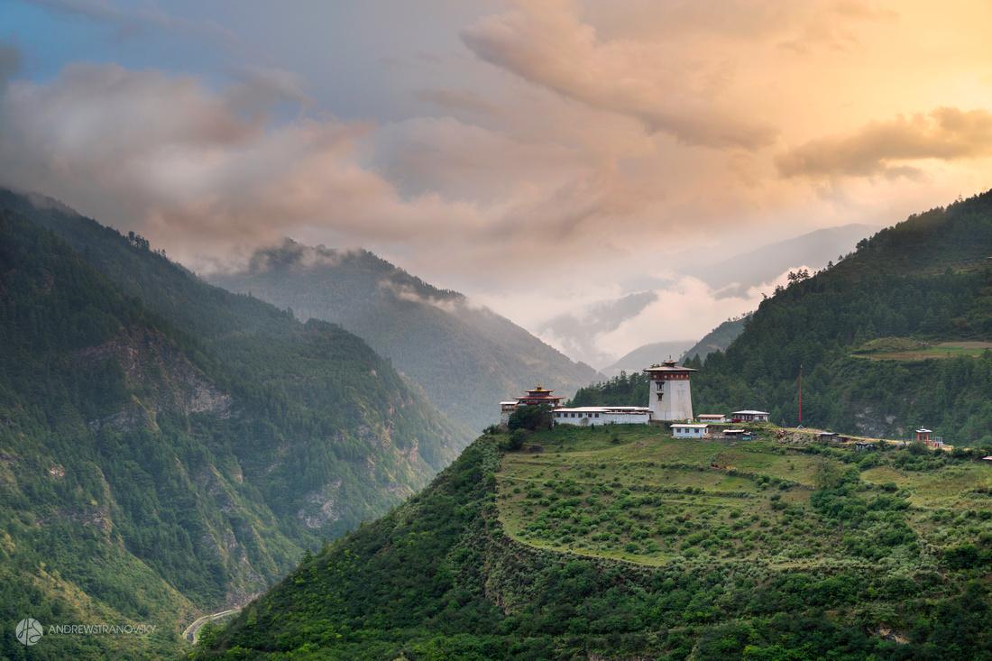 Dzong in Haa, Bhutan